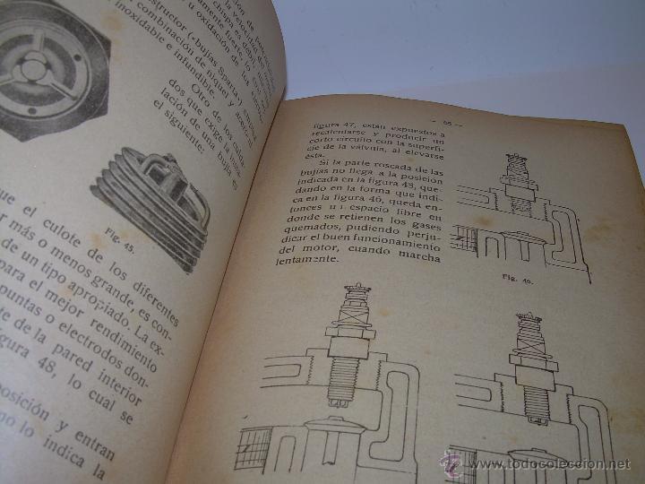 Libros antiguos: LIBRO..COMO SE CONDUCE Y MANEJA UN AUTOMOVIL..MANUAL DEL CHAUFFEUR...AÑO..1.922..CON MUCHOS GRABADOS - Foto 16 - 49073807