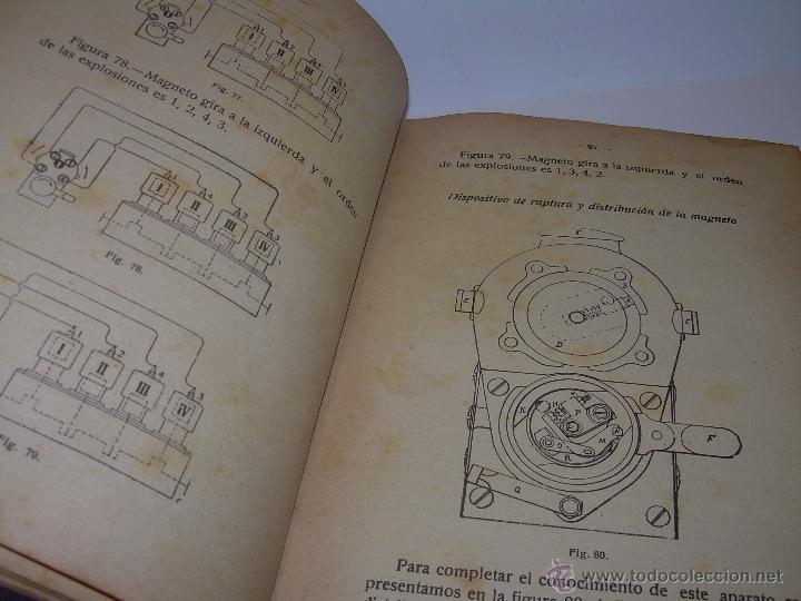 Libros antiguos: LIBRO..COMO SE CONDUCE Y MANEJA UN AUTOMOVIL..MANUAL DEL CHAUFFEUR...AÑO..1.922..CON MUCHOS GRABADOS - Foto 17 - 49073807