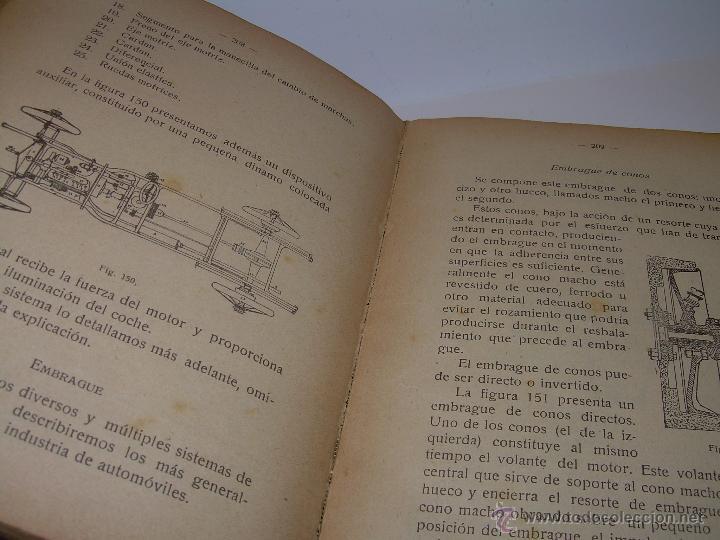 Libros antiguos: LIBRO..COMO SE CONDUCE Y MANEJA UN AUTOMOVIL..MANUAL DEL CHAUFFEUR...AÑO..1.922..CON MUCHOS GRABADOS - Foto 18 - 49073807