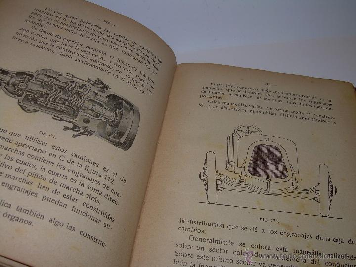 Libros antiguos: LIBRO..COMO SE CONDUCE Y MANEJA UN AUTOMOVIL..MANUAL DEL CHAUFFEUR...AÑO..1.922..CON MUCHOS GRABADOS - Foto 19 - 49073807