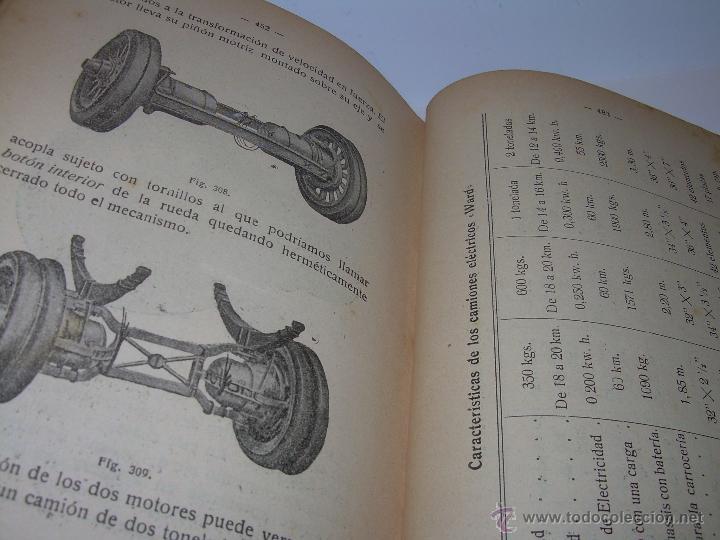Libros antiguos: LIBRO..COMO SE CONDUCE Y MANEJA UN AUTOMOVIL..MANUAL DEL CHAUFFEUR...AÑO..1.922..CON MUCHOS GRABADOS - Foto 22 - 49073807
