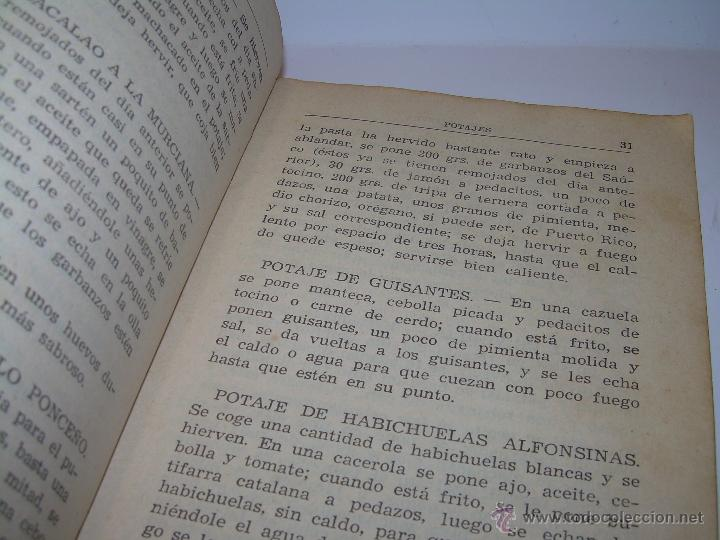 Libros antiguos: CARMENCITA O LA BUENA COCINERA. - Foto 6 - 49086608