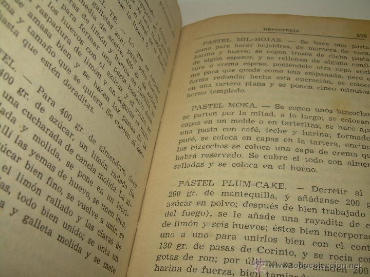 Libros antiguos: CARMENCITA O LA BUENA COCINERA. - Foto 10 - 49086608