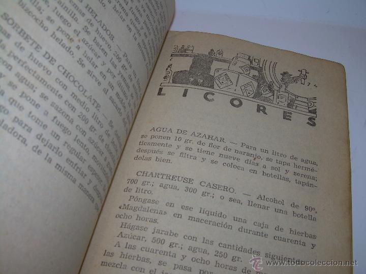 Libros antiguos: CARMENCITA O LA BUENA COCINERA. - Foto 11 - 49086608