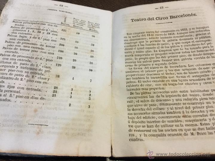 CURIOSO Y ANTIGUO ALMANAQUE DEL DIARIO DE BARCELONA. AÑO 1858. CALENDARIO. 191 PAGINAS. (Libros Antiguos, Raros y Curiosos - Ciencias, Manuales y Oficios - Otros)