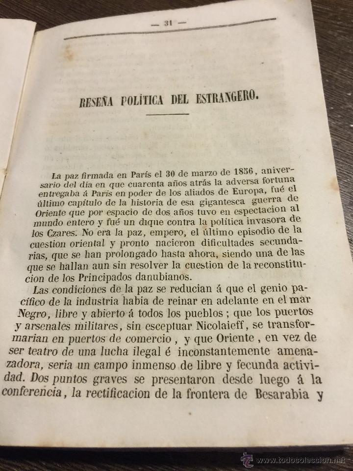 Libros antiguos: Curioso y antiguo ALMANAQUE del DIARIO DE BARCELONA. Año 1858. Calendario. 191 paginas. - Foto 6 - 49126228