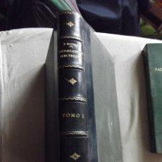Libros antiguos: INSTALLATIONS ELECTRIQUES A HAUTE ET BASSE TENSIO TOMO I PAR A. MAUDUIT. Lote 49128446