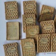 Libros antiguos: L- 1444. LOTE 12 LIBRITOS EDITIONS NILSSON, PARIS. . Lote 49191883