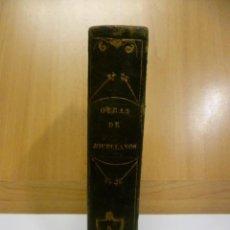 Libros antiguos: OBRAS DE DON GASPAR MELCHOR JOVELLANOS .- TOMO V - COMEDIA - EL DELINCUENTE HONRADO - JOVELLANOS. G. Lote 49203557