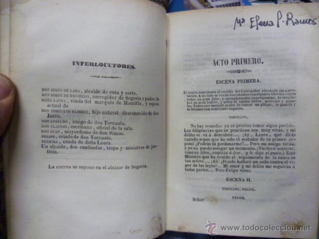 Libros antiguos: OBRAS DE DON GASPAR MELCHOR JOVELLANOS .- Tomo V - COMEDIA - El delincuente honrado - Jovellanos. G - Foto 5 - 49203557
