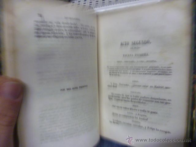 Libros antiguos: OBRAS DE DON GASPAR MELCHOR JOVELLANOS .- Tomo V - COMEDIA - El delincuente honrado - Jovellanos. G - Foto 6 - 49203557