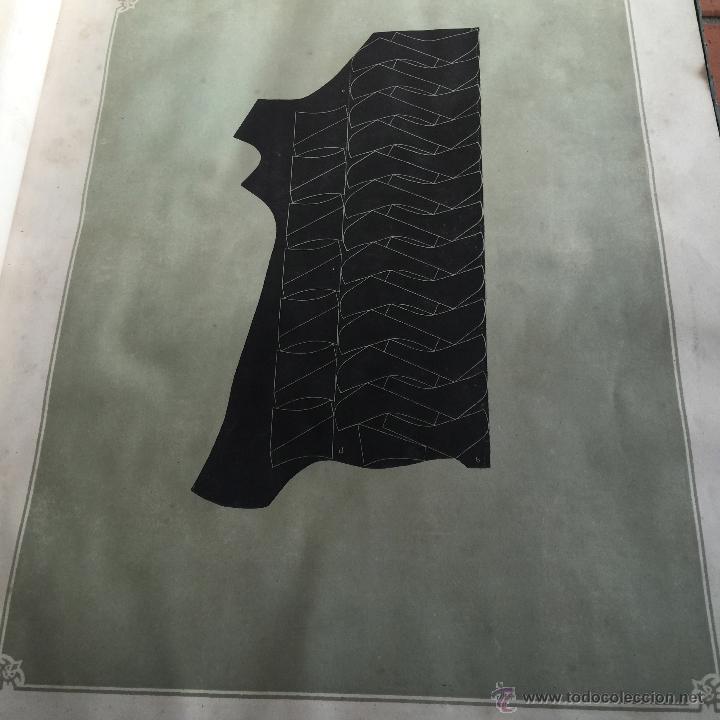 Libros antiguos: Espectacular libro ZAPATERIA ESPAÑOLA.Tratado de corte y preparacion. Miguel Valls. Tortosa. 61x44cm - Foto 4 - 49204921