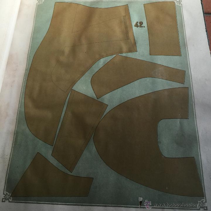 Libros antiguos: Espectacular libro ZAPATERIA ESPAÑOLA.Tratado de corte y preparacion. Miguel Valls. Tortosa. 61x44cm - Foto 8 - 49204921