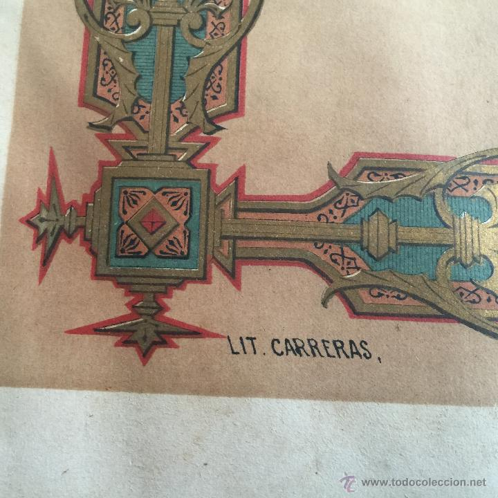 Libros antiguos: Espectacular libro ZAPATERIA ESPAÑOLA.Tratado de corte y preparacion. Miguel Valls. Tortosa. 61x44cm - Foto 12 - 49204921