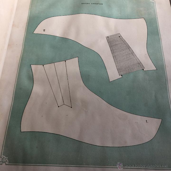 Libros antiguos: Espectacular libro ZAPATERIA ESPAÑOLA.Tratado de corte y preparacion. Miguel Valls. Tortosa. 61x44cm - Foto 21 - 49204921