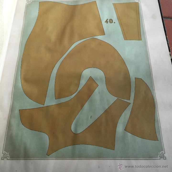 Libros antiguos: Espectacular libro ZAPATERIA ESPAÑOLA.Tratado de corte y preparacion. Miguel Valls. Tortosa. 61x44cm - Foto 26 - 49204921