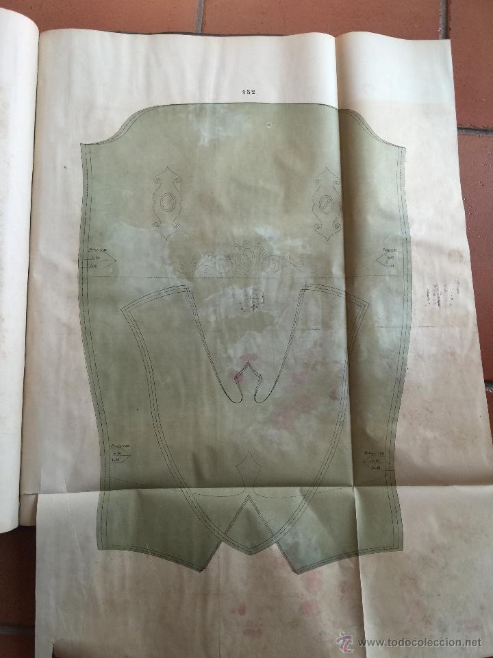 Libros antiguos: Espectacular libro ZAPATERIA ESPAÑOLA.Tratado de corte y preparacion. Miguel Valls. Tortosa. 61x44cm - Foto 49 - 49204921