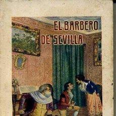 Libros antiguos: NÚÑEZ DE PRADO : EL BARBERO DE SEVILLA (SOPENA, 1934) . Lote 49253176