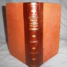 Libros antiguos: LE SIEGE DE PARIS - AÑO 1871 - F.SARCEY - MAPA PLEGADO.. Lote 49285834