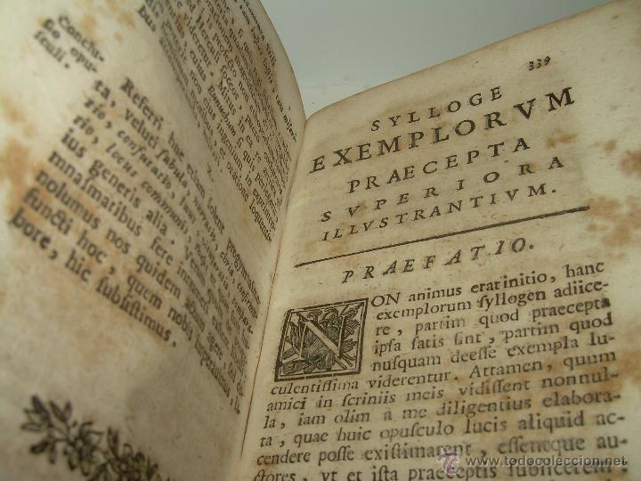Libros antiguos: LIBRO DE PERGAMINO...FUNDAMENTA STILI CULTIORIS...AÑO 1.743 - Foto 12 - 49290960
