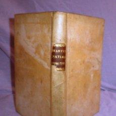 Alte Bücher - LEGE NATURALI POSITIONES - AÑO 1772 - ANTONII DE MARTINI - PERGAMINO. - 49290991