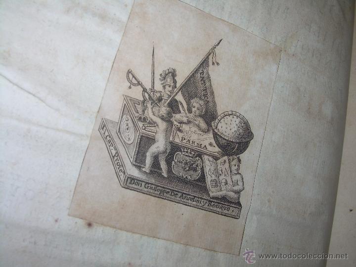 Libros antiguos: IMPORTANTE LIBRO POR SU INFINIDAD DE GRABADOS.AÑO..1.771....ARCHITECTURE CIVILE, MILITAIRE ET NAVALE - Foto 11 - 49292341