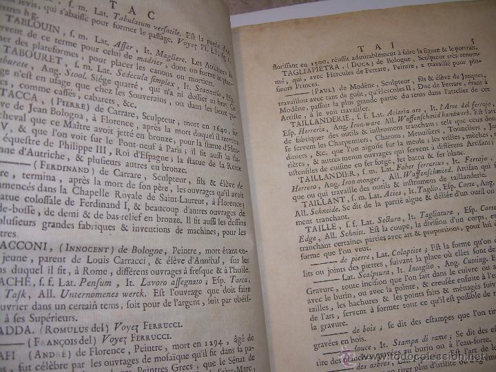 Libros antiguos: IMPORTANTE LIBRO POR SU INFINIDAD DE GRABADOS.AÑO..1.771....ARCHITECTURE CIVILE, MILITAIRE ET NAVALE - Foto 13 - 49292341