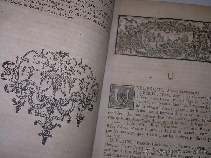 Libros antiguos: IMPORTANTE LIBRO POR SU INFINIDAD DE GRABADOS.AÑO..1.771....ARCHITECTURE CIVILE, MILITAIRE ET NAVALE - Foto 14 - 49292341