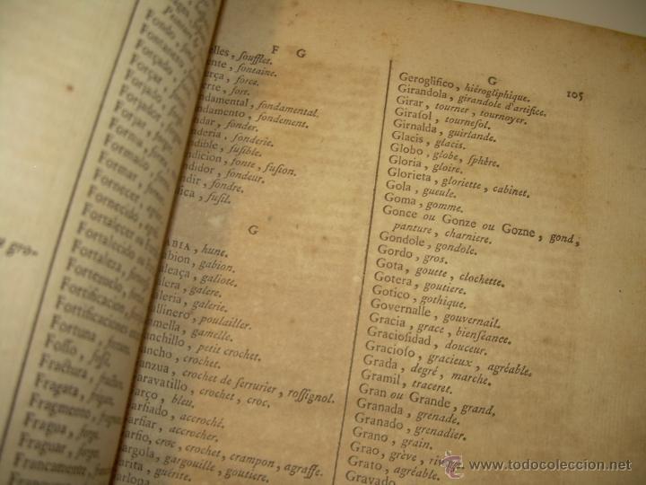 Libros antiguos: IMPORTANTE LIBRO POR SU INFINIDAD DE GRABADOS.AÑO..1.771....ARCHITECTURE CIVILE, MILITAIRE ET NAVALE - Foto 17 - 49292341