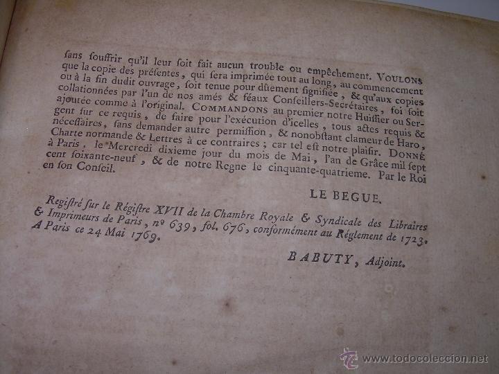 Libros antiguos: IMPORTANTE LIBRO POR SU INFINIDAD DE GRABADOS.AÑO..1.771....ARCHITECTURE CIVILE, MILITAIRE ET NAVALE - Foto 20 - 49292341