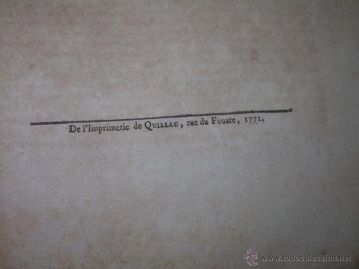Libros antiguos: IMPORTANTE LIBRO POR SU INFINIDAD DE GRABADOS.AÑO..1.771....ARCHITECTURE CIVILE, MILITAIRE ET NAVALE - Foto 21 - 49292341