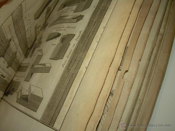 Libros antiguos: IMPORTANTE LIBRO POR SU INFINIDAD DE GRABADOS.AÑO..1.771....ARCHITECTURE CIVILE, MILITAIRE ET NAVALE - Foto 22 - 49292341