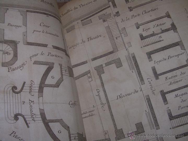 Libros antiguos: IMPORTANTE LIBRO POR SU INFINIDAD DE GRABADOS.AÑO..1.771....ARCHITECTURE CIVILE, MILITAIRE ET NAVALE - Foto 24 - 49292341