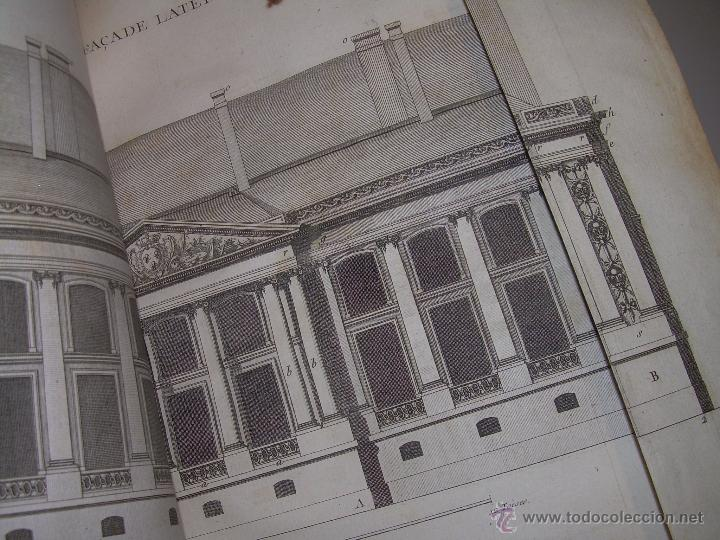 Libros antiguos: IMPORTANTE LIBRO POR SU INFINIDAD DE GRABADOS.AÑO..1.771....ARCHITECTURE CIVILE, MILITAIRE ET NAVALE - Foto 25 - 49292341