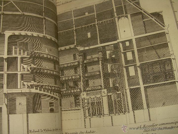 Libros antiguos: IMPORTANTE LIBRO POR SU INFINIDAD DE GRABADOS.AÑO..1.771....ARCHITECTURE CIVILE, MILITAIRE ET NAVALE - Foto 26 - 49292341