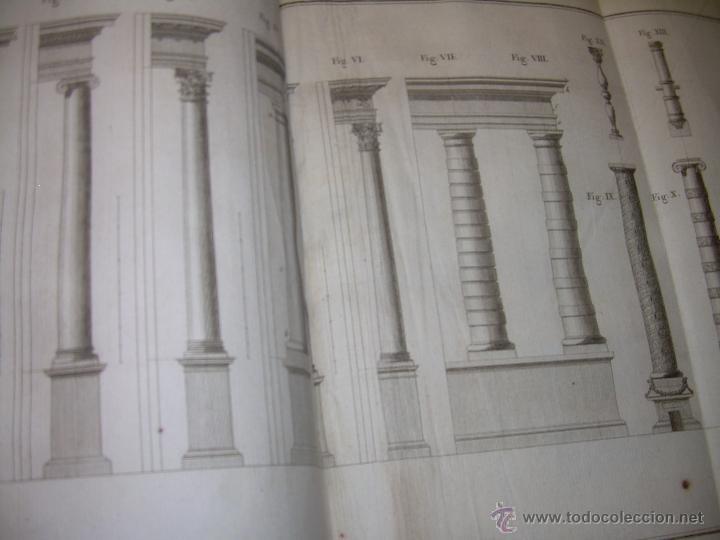 Libros antiguos: IMPORTANTE LIBRO POR SU INFINIDAD DE GRABADOS.AÑO..1.771....ARCHITECTURE CIVILE, MILITAIRE ET NAVALE - Foto 27 - 49292341