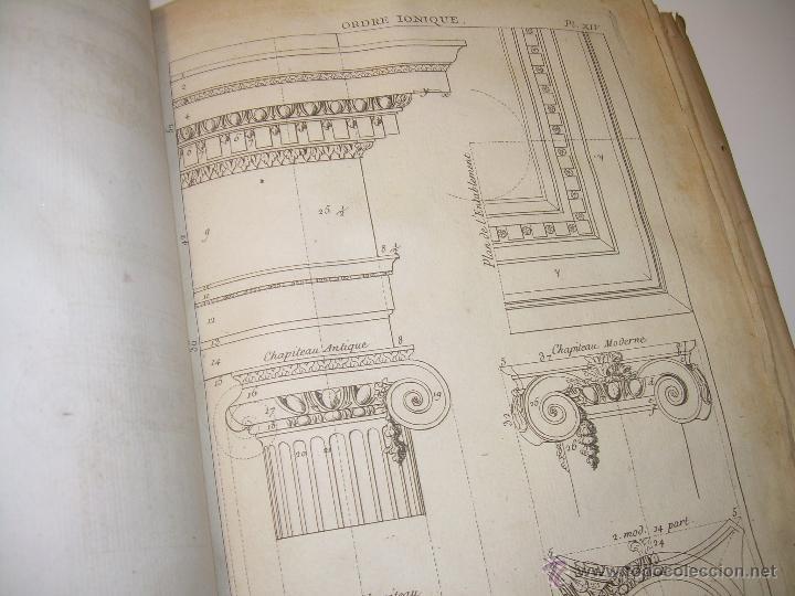 Libros antiguos: IMPORTANTE LIBRO POR SU INFINIDAD DE GRABADOS.AÑO..1.771....ARCHITECTURE CIVILE, MILITAIRE ET NAVALE - Foto 28 - 49292341