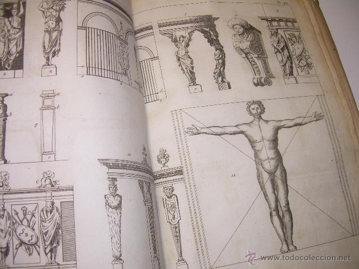 Libros antiguos: IMPORTANTE LIBRO POR SU INFINIDAD DE GRABADOS.AÑO..1.771....ARCHITECTURE CIVILE, MILITAIRE ET NAVALE - Foto 29 - 49292341