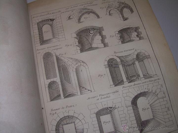 Libros antiguos: IMPORTANTE LIBRO POR SU INFINIDAD DE GRABADOS.AÑO..1.771....ARCHITECTURE CIVILE, MILITAIRE ET NAVALE - Foto 30 - 49292341