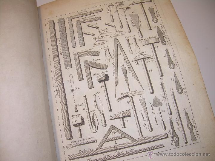 Libros antiguos: IMPORTANTE LIBRO POR SU INFINIDAD DE GRABADOS.AÑO..1.771....ARCHITECTURE CIVILE, MILITAIRE ET NAVALE - Foto 31 - 49292341
