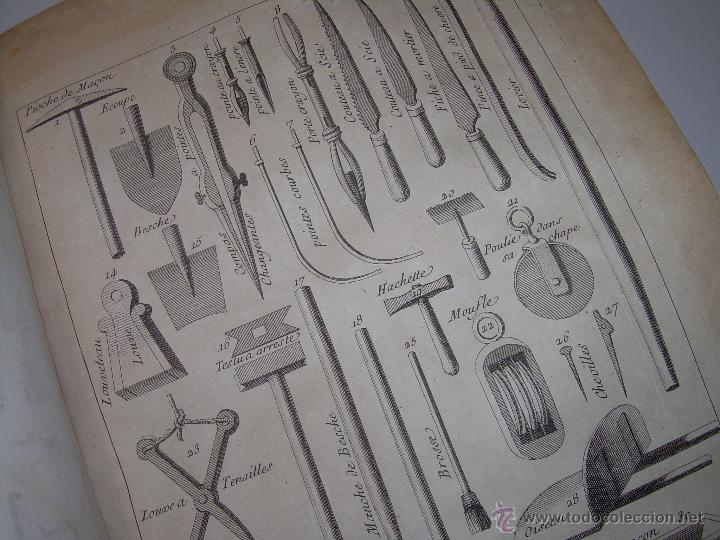 Libros antiguos: IMPORTANTE LIBRO POR SU INFINIDAD DE GRABADOS.AÑO..1.771....ARCHITECTURE CIVILE, MILITAIRE ET NAVALE - Foto 32 - 49292341