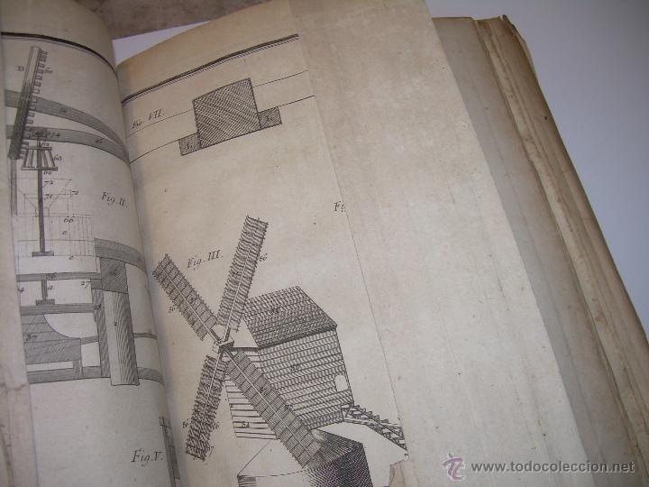 Libros antiguos: IMPORTANTE LIBRO POR SU INFINIDAD DE GRABADOS.AÑO..1.771....ARCHITECTURE CIVILE, MILITAIRE ET NAVALE - Foto 34 - 49292341