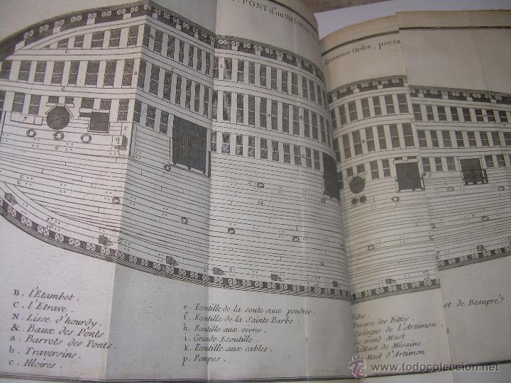 Libros antiguos: IMPORTANTE LIBRO POR SU INFINIDAD DE GRABADOS.AÑO..1.771....ARCHITECTURE CIVILE, MILITAIRE ET NAVALE - Foto 36 - 49292341