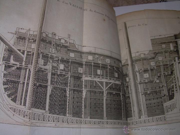 Libros antiguos: IMPORTANTE LIBRO POR SU INFINIDAD DE GRABADOS.AÑO..1.771....ARCHITECTURE CIVILE, MILITAIRE ET NAVALE - Foto 37 - 49292341