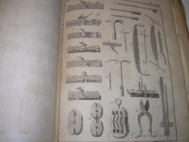 Libros antiguos: IMPORTANTE LIBRO POR SU INFINIDAD DE GRABADOS.AÑO..1.771....ARCHITECTURE CIVILE, MILITAIRE ET NAVALE - Foto 38 - 49292341