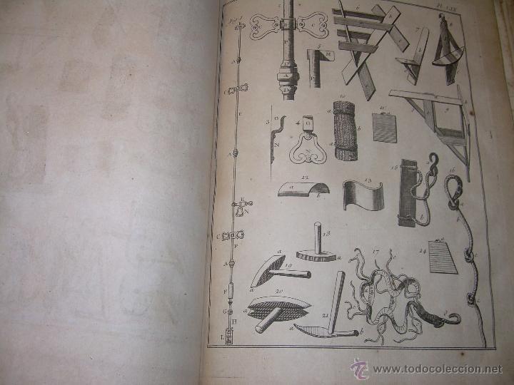 Libros antiguos: IMPORTANTE LIBRO POR SU INFINIDAD DE GRABADOS.AÑO..1.771....ARCHITECTURE CIVILE, MILITAIRE ET NAVALE - Foto 39 - 49292341