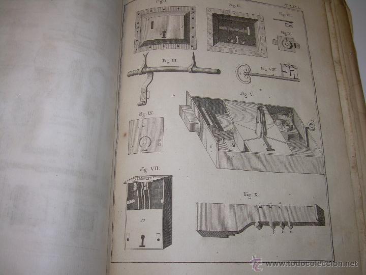 Libros antiguos: IMPORTANTE LIBRO POR SU INFINIDAD DE GRABADOS.AÑO..1.771....ARCHITECTURE CIVILE, MILITAIRE ET NAVALE - Foto 40 - 49292341