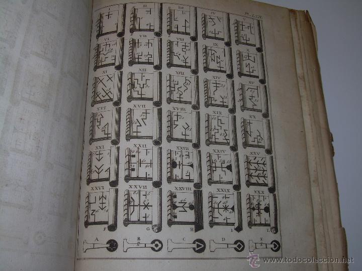 Libros antiguos: IMPORTANTE LIBRO POR SU INFINIDAD DE GRABADOS.AÑO..1.771....ARCHITECTURE CIVILE, MILITAIRE ET NAVALE - Foto 41 - 49292341