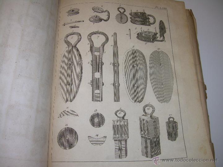 Libros antiguos: IMPORTANTE LIBRO POR SU INFINIDAD DE GRABADOS.AÑO..1.771....ARCHITECTURE CIVILE, MILITAIRE ET NAVALE - Foto 42 - 49292341
