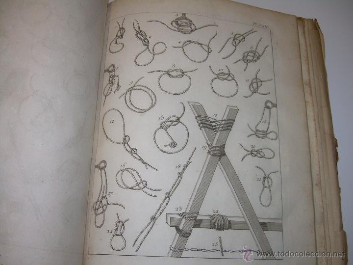Libros antiguos: IMPORTANTE LIBRO POR SU INFINIDAD DE GRABADOS.AÑO..1.771....ARCHITECTURE CIVILE, MILITAIRE ET NAVALE - Foto 43 - 49292341